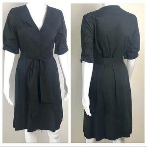 ⬇️Ellie Tahari Button Down Short Sleeve Dress 8
